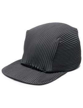 Pleated Baseball Cap by Homme Plissé Issey Miyake