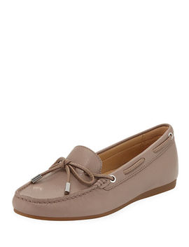 Sutton Tumbled Leather Moccasins by Michael Michael Kors