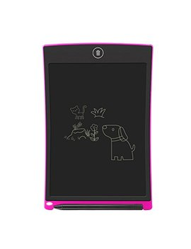 "Lcd Writing Tablet,Electronic Writing &Drawing Board Doodle Board,Sunany 8.5""Handwriting Paper Drawing Tablet Gift For Kids And Adults At Home,School And Office (Pink) by Sunany"