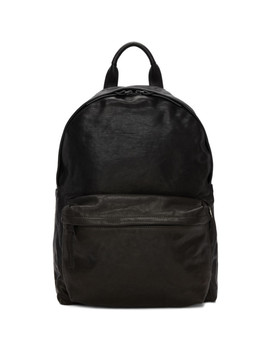 Black Novak Backpack by Officine Creative