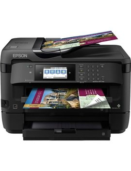 Work Force® Wf 7720 Wireless All In One Printer   Black by Epson