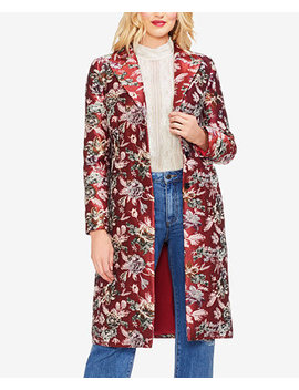 Floral Tapestry Topper Jacket by Vince Camuto