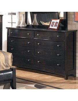 Signature Design By Ashley Menard 6 Drawer Double Dresser & Reviews by Signature Design By Ashley