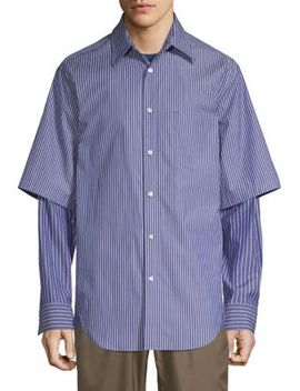 Stripe Double Layered Shirt by 3.1 Phillip Lim