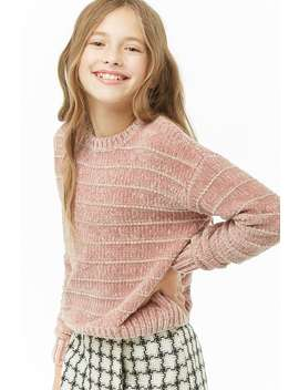 Girls Chenille Sweater (Kids) by Forever 21