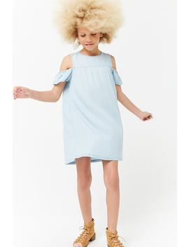 Girls Chambray Dress (Kids) by Forever 21