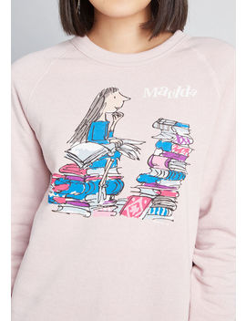 Moving Imagination Matilda Sweatshirt by Out Of Print