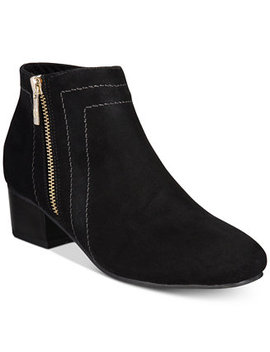 Boniee Ankle Booties, Created For Macy's by Charter Club