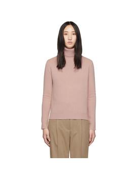 Pink Cashmere Elisse Turtleneck by Max Mara