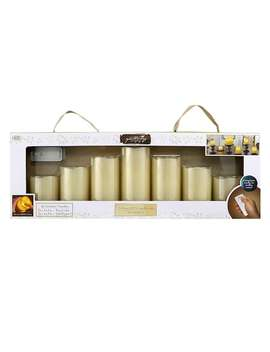Apothecary & Company 7 Pc. Led Flameless Candle Set With Remote by Kohl's