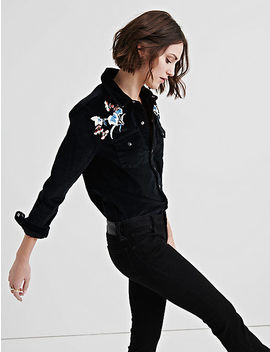 Western Shirt W/ Emb by Lucky Brand
