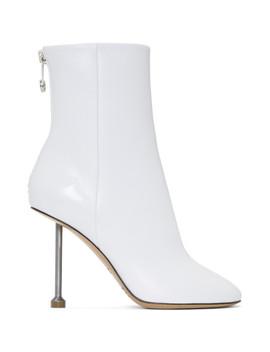 White Nail Boots by Maison Margiela