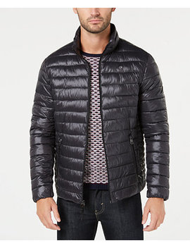 Men's Packable Down Quilted Jacket by Calvin Klein