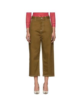 Brown Armanda Jeans by Carhartt Work In Progress