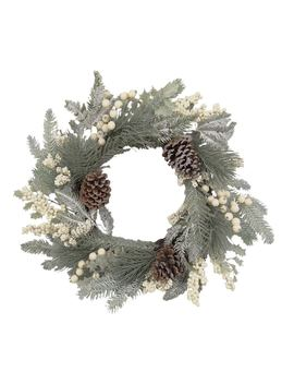 St. Nicholas Square® Indoor Artificial Pine Christmas Wreath by St. Nicholas Square