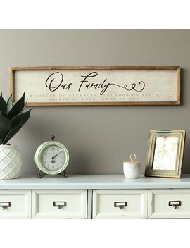 "Stratton Home Decor ""Our Family"" Rustic Wall Decor by Kohl's"