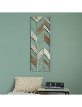 Stratton Home Decor Geometric Metal & Wood Wall Decor by Kohl's