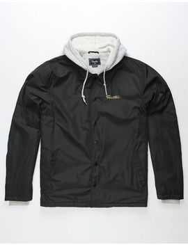 Primitive 2 Fer Black Mens Coach Jacket by Primitive
