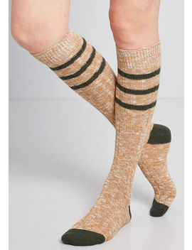 A Cozy Classic Knee Socks by Modcloth