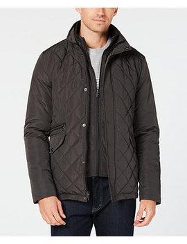Men's Quilted Overcoat by Calvin Klein