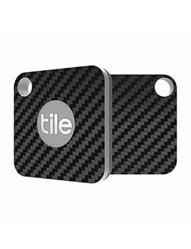 Tile Mate Skin   Black Carbon Fiber Premium Skin By Aretty (2   Pack) by Aretty