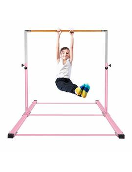 Gymmatsdirect Gymnastics Junior Training Bar   Adjustable Horizontal Kip Bar Kids by Gymmatsdirect