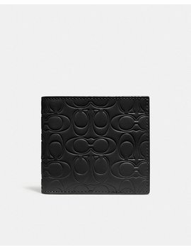 Double Billfold Wallet In Signature Leather by Coach