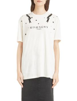 Gemini Back Graphic Tee by Givenchy