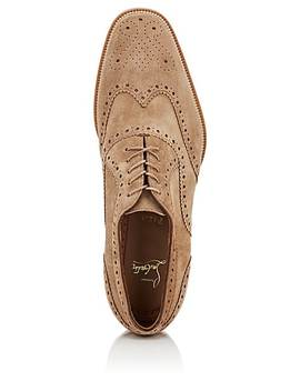 Charlie Me Suede Wingtip Balmorals by Christian Louboutin