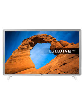 "Lg 32 Lk6200 Pla Led Hdr Full Hd 1080p Smart Tv, 32"" With Freeview Play/Freesat Hd, Grey/White by Lg"