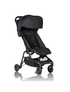 Mountain Buggy Nano Stroller, Black by Mountain Buggy