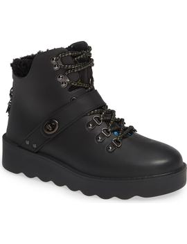 Urban Hiker Faux Shearling Trim Bootie by Coach