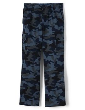 Boys Iron Knee Camo Pull On Cargo Pant by Lands' End