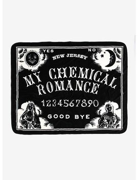 My Chemical Romance Spirit Board Throw Blanket by Hot Topic