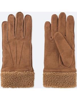 Damen Heattech Handschuhe Mit Fleecebesatz by Uniqlo
