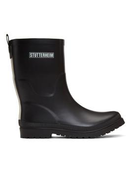 Black Hornavan Rain Boots by Stutterheim