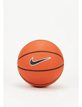 Basketball Swoosh Skills Amber/Black/White/Black by Nike