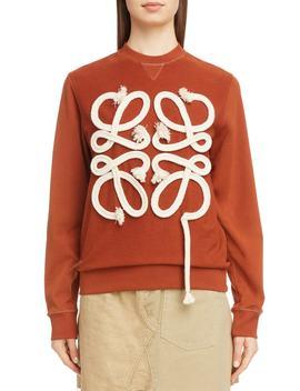 Rope Logo Sweatshirt by Loewe