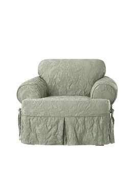Matelasse Damask T Chair   Sure Fit by Shop This Collection