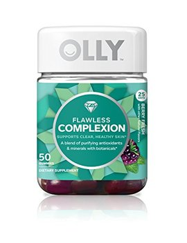 Olly Flawless Complexion Gummy Supplement, With Antioxidants; Berry Fresh by Olly