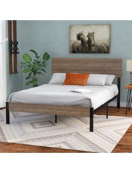 Loon Peak Partee Platform Bed & Reviews by Loon Peak