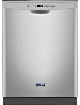 """24"""" Built In Dishwasher   Fingerprint Resistant Stainless Steel by Maytag"""