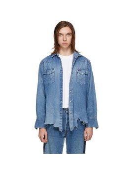 Indigo Reworked Collected Shirt by B Sides