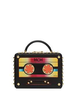 Berlin Small Cassette Tape Crossbody Bag by Mcm
