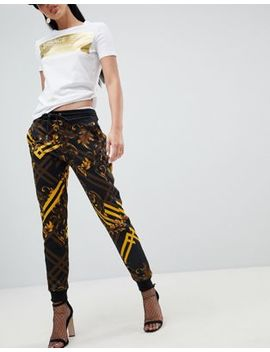 Versace Jeans Baroque Print Jogger by Versace