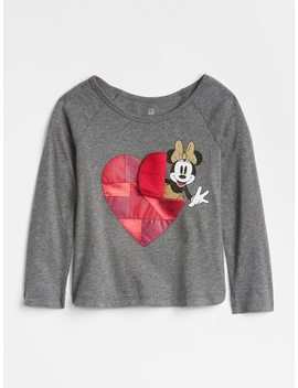 Baby Gap | Disney Mickey Mouse And Minnie Mouse Interactive Graphic T Shirt by Gap