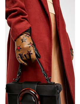 Reach For The Stars Leather Glove by Free People
