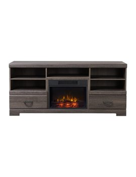 "Charlton Home Dooling Media Tv Stand For T Vs Up To 65""With Fireplace & Reviews by Charlton Home"