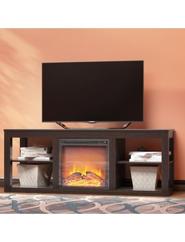 "Zipcode Design Rickard Tv Stand For T Vs Up To 65"" With Fireplace & Reviews by Zipcode Design"