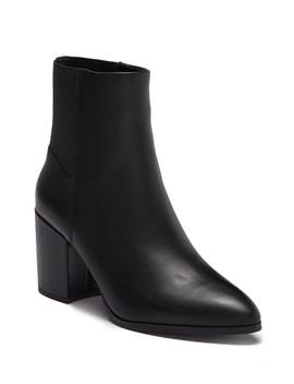 Jeez Leather Block Heel Boot by Steve Madden